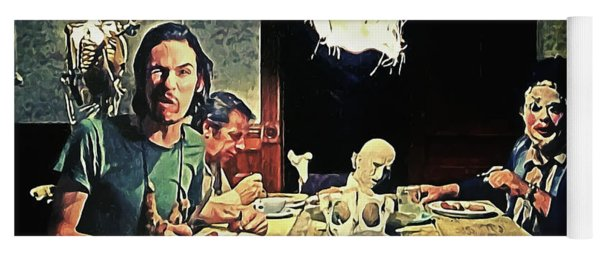 The Dinner Scene - Texas Chainsaw Yoga Mat