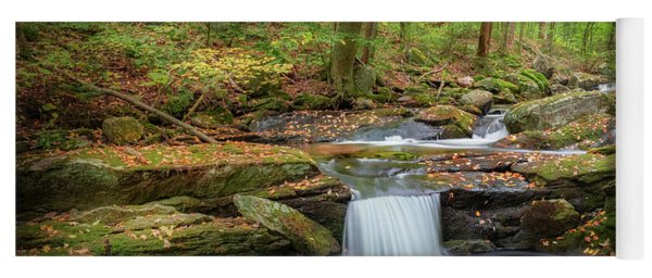 Yoga Mat featuring the photograph The Ethereal Forest 2 by Bill Wakeley