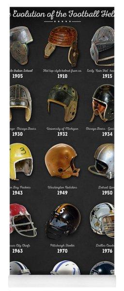 The Evolution Of The Football Helmet Yoga Mat