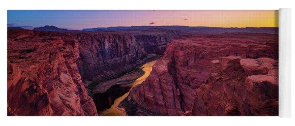 The Golden Canyon Yoga Mat