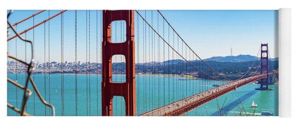The Golden Gate Bridge I I Yoga Mat