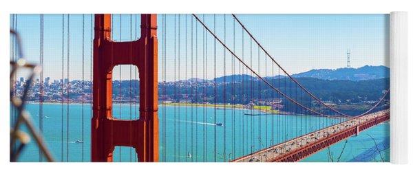 The Golden Gate Bridge I I I Yoga Mat