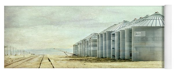 The Grain Bins At Taber Yoga Mat