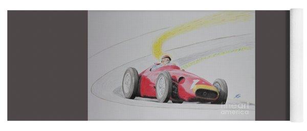The Greatest Victory Of All - Juan Manuel Fangio Maserati 1957 Yoga Mat