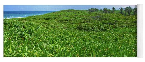 The Green Island Yoga Mat