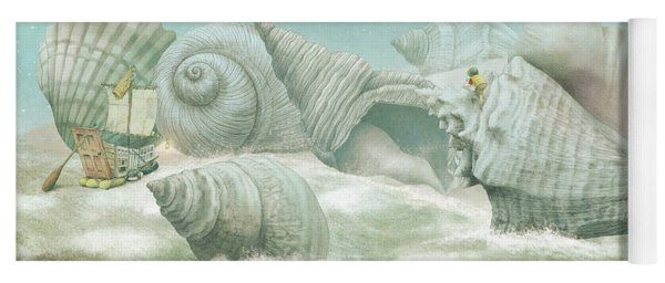 The Island Of Giant Shells Yoga Mat