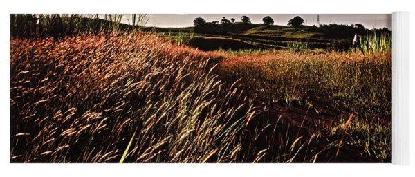 The Last Grassy Field, Trinidad Yoga Mat