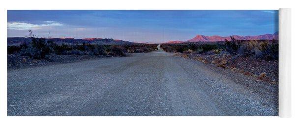 The Long Dirt Road Yoga Mat