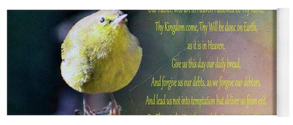 The Lord's Prayer Yoga Mat