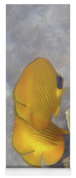 The Masked Butterflyfish Naturally Yoga Mat