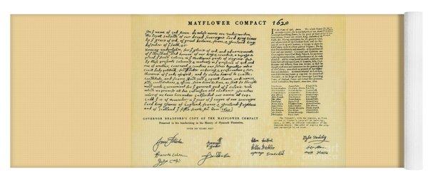 The Mayflower Compact  Yoga Mat