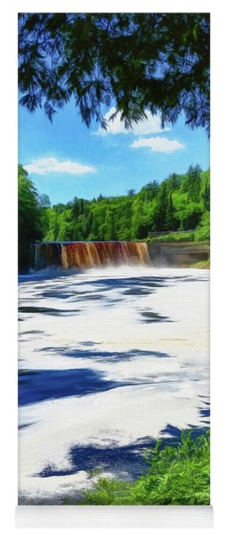 The Mighty Tahquamenon Yoga Mat