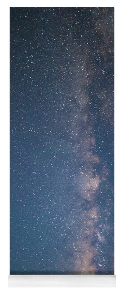 Yoga Mat featuring the photograph The Milky Way In Arizona by Mark Duehmig
