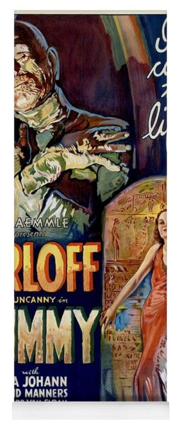 The Mummy 1932 Film Yoga Mat