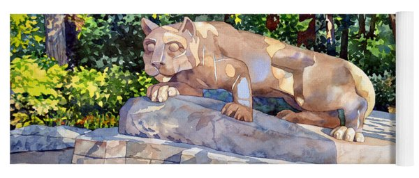 The Nittany Lion Yoga Mat