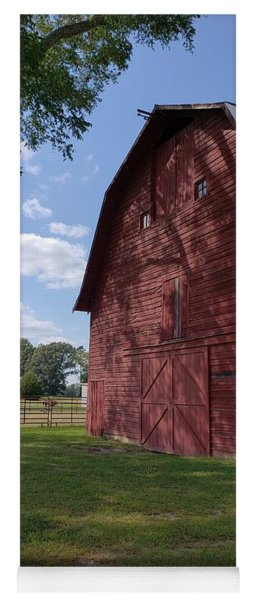 The Old Red Barn Yoga Mat