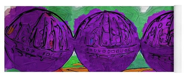 The Purple Balls Yoga Mat
