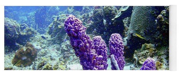 The Purple Sponge Yoga Mat