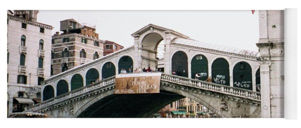 The Rialto Bridge  Yoga Mat