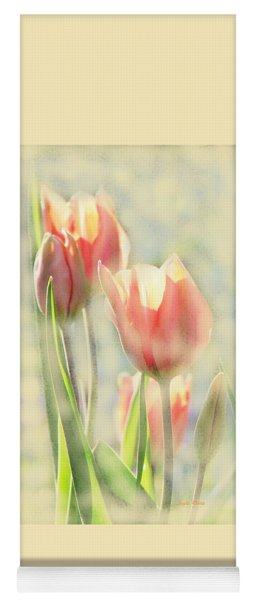 The Scent Of Tulips Yoga Mat