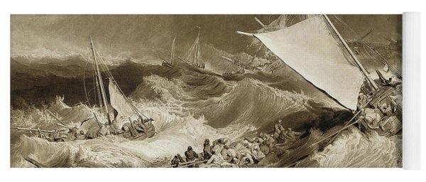 The Ship Wreck, 1807 Yoga Mat