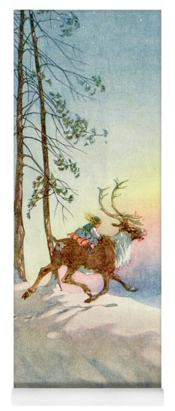 The Snow Queen, Illustration From Yoga Mat
