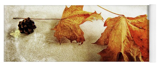 Yoga Mat featuring the photograph The Sound Of Autumn by Randi Grace Nilsberg