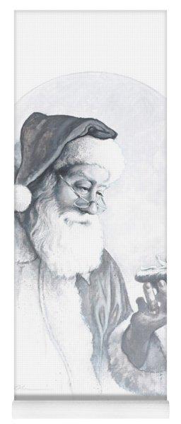 The Spirit Of Christmas Vignette Yoga Mat
