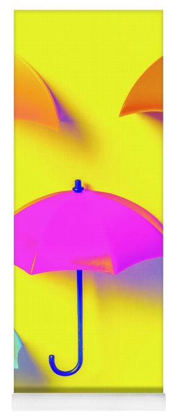 The Sun Shower Scene Yoga Mat