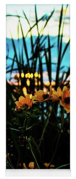 The Sunflower's Sunset Yoga Mat