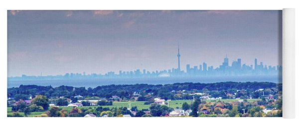 The Toronto Skyline Yoga Mat