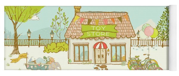 The Toy Store Yoga Mat