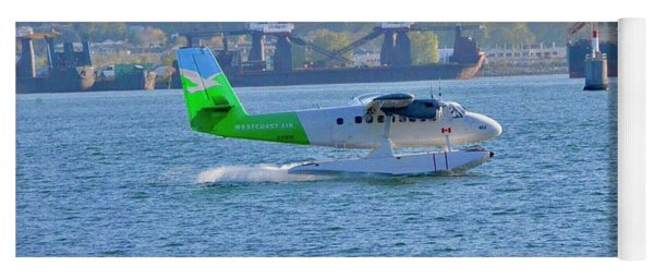 The  Twin Otter Has Landed Yoga Mat