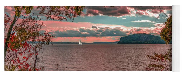 The View From Croton Point Yoga Mat