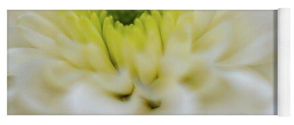 The White Flower Yoga Mat