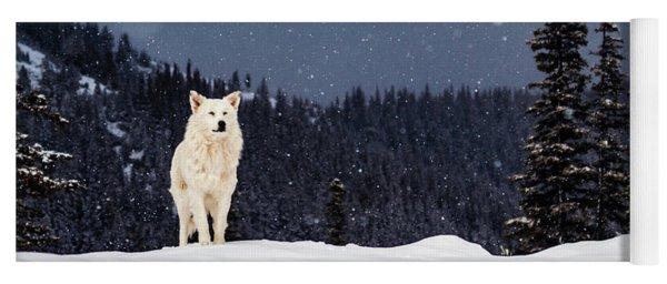 The Wolf Yoga Mat