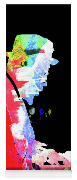 Thelonious Watercolor II Yoga Mat