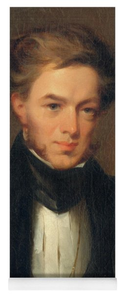 Portrait Of Thomas Ustick Walter, 1835 Yoga Mat
