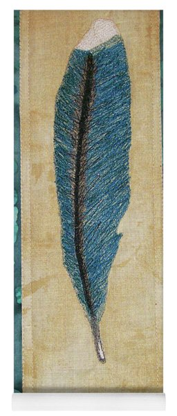 Threaded Feather Yoga Mat