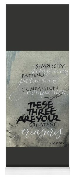 Three Treasures Yoga Mat