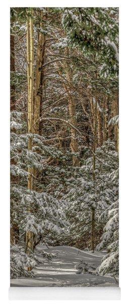 Thru The Forest Yoga Mat