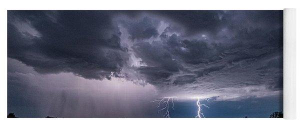 Thunderstorm #2 Yoga Mat