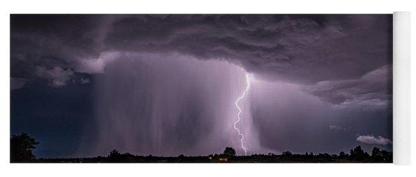 Thunderstorm #4 Yoga Mat