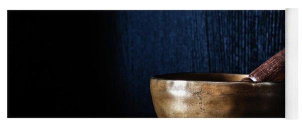 Tibetan Singing Bowl Yoga Mat