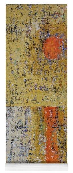 Tidepool Reflection Original Painting Sold Yoga Mat