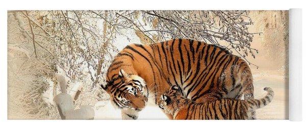 Tiger Family Yoga Mat