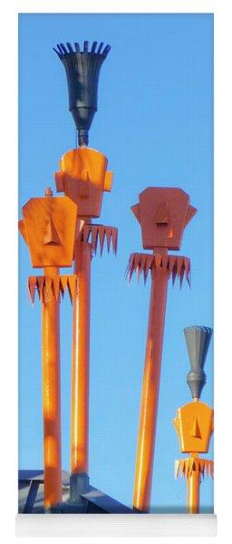 Tiki Palm Springs Yoga Mat
