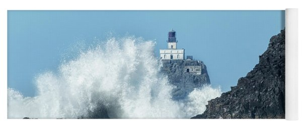 Tillamook Rock Light House, Oregon - Terrible Tilly Yoga Mat