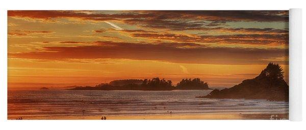 Tofino Beach Sunset 1 Yoga Mat