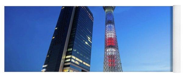 Tokyo Skytree Yoga Mat